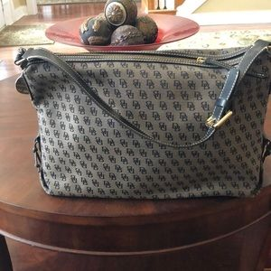 Dooney & Bourke monogram(DB) hobo bag.